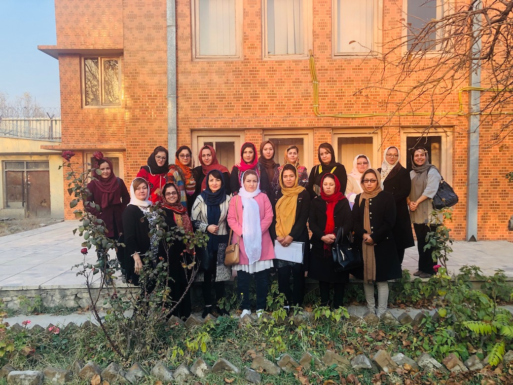 The PTB® Alumnae Council in Afghanistan, Fall of 2018