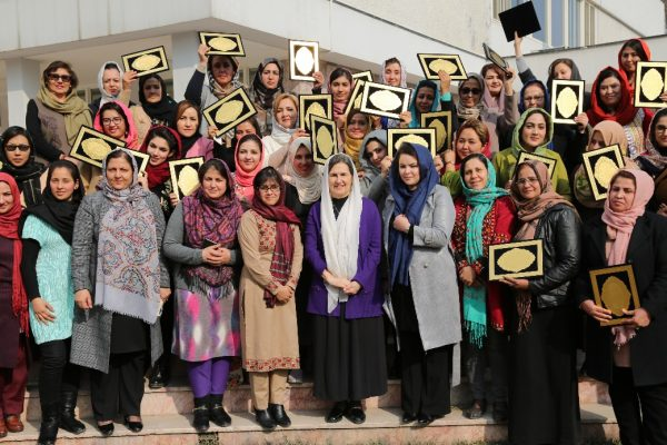 PTB® class of 2019 with H.E. First Lady Rula Ghani.